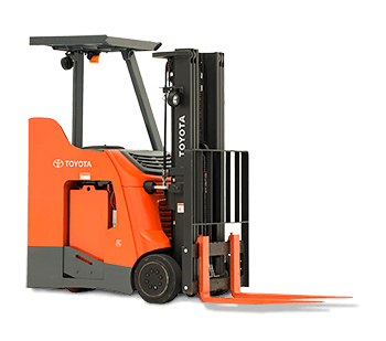 STAND-UP RIDER Toyota FORKLIFT